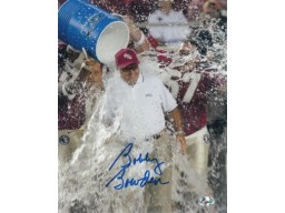 Bobby Bowden signed Florida State Seminoles 16x20 Photo Powerade