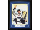 Jimmie Johnson Unsigned Framed 12x18 Photo