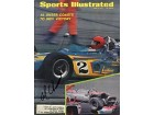 Al Unser Autographed Indy 500 - Sports Illustrated Magazine 1970