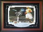 Manny PacMan Pacquiao Autographed / Signed Framed 8x10 Photo (Online Authentics)
