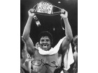 Leon Spinks Autographed / Signed Black & White Boxing 8x10 Photo