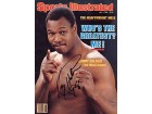 Larry Holmes Autographed / Signed Sports Illustrated July 1 1985