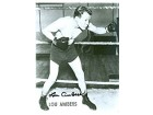 Lou Ambers Autographed / Signed Black & White Boxing Photo