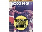 Joe Frazier Boxing Illustrated Autographed / Signed Jan 1974