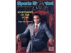 Sugar Ray Leonard Autographed Boxing Illustrated Sportsman of the Year 1981