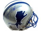Barry Sanders signed Detroit Lions TB Riddell Mini Helmet