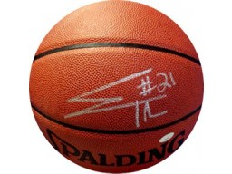 Evan Turner signed Indoor/Outdoor Basketball (Ohio State Buckeyes/Boston Celtics)