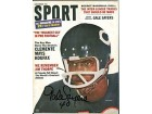 Sport Magazine December 1966 Gale Sayers Autographed