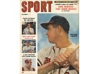 Sport Magazine - Eddie Mathews Milwaukee Braves Cover - September 1958