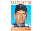 Don Larsen Autographed / Signed 1964 Topps No.513 Baseball Card
