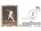 Willie Stargell Autographed / Signed 1979 World Series Jim Palmer Pitching First Day Cover