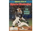 Brian Doyle Autographed / Signed Sports Illustrated - October 23 1978