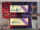 Coner Jackson & Ryan Howard Topps Co-Signers Autographs Card #CS-62 - 2006