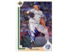 David Wells Autographed / Signed 1991 Upper Deck Toronto Blue Jays Card #583