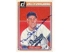 Duke Snider Autographed / Signed 1983 Donruss Hall of Fame Heroes #14 Card - Brooklyn Dodgers