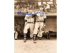 Warren Spahn / John Sain Autographed / Signed Boston Braves Baseball 8x10 Photo