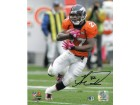 Knowshon Moreno signed Denver Broncos 16X20 Photo (orange jersey run) - Moreno Hologram