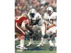 Dwight Stephenson signed Miami Dolphins 8x10 Photo- PSA DNA Hologram