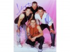 98 Ninety Eight Degrees Signed 8x10 Photo by Nick Lachey, Drew Lachey, Jeff Timmons and Justin Jeffre