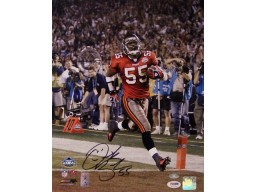 Derrick Brooks Autographed Hand Signed Tampa Bay Buccaneers 11x14 Photo