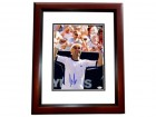 Andre Agassi Signed - Autographed Tennis 11x14 inch Photo - MAHOGANY CUSTOM FRAME - JSA Certificate of Authenticity