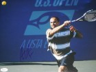 Andre Agassi Signed - Autographed Tennis 11x14 inch Photo - JSA Certificate of Authenticity