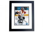 Alex Auld Signed - Autographed Florida Panthers 8x10 inch Photo BLACK CUSTOM FRAME - Guaranteed to pass PSA or JSA