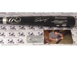 Evan Longoria Hand Signed Baseball Bat - MLBA