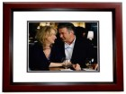 Alec Baldwin Signed - Autographed It's Complicated 8x10 inch Photo MAHOGANY CUSTOM FRAME - Guaranteed to pass PSA or JSA - pictured with Meryl Streep