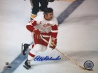 Alex Delvecchio Signed - Autographed Detroit Red Wings 8x10 inch Photo - Guaranteed to pass PSA or JSA - Hall of Famer
