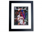 Andre Drummond Signed - Autographed Detroit Pistons 8x10 inch Photo BLACK CUSTOM FRAME - Guaranteed to pass PSA or JSA