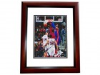 Andre Drummond Signed - Autographed Detroit Pistons 8x10 inch Photo MAHOGANY CUSTOM FRAME - Guaranteed to pass PSA or JSA