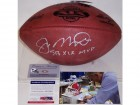 Joe Montana Autographed Hand Signed Super Bowl 19 XIX Official NFL Leather Football - PSA/DNA