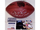 Joe Montana Autographed Hand Signed Super Bowl 24 XXIV Official NFL Football - PSA/DNA