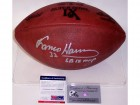 Franco Harris Autographed Hand Signed Super Bowl 9 IX Official NFL Leather Football - PSA/DNA