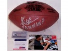 Marcus Allen Autographed Hand Signed Super Bowl 18 XVIII Official NFL Leather Football - PSA/DNA
