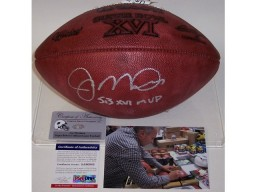 Joe Montana Autographed Hand Signed Super Bowl 16 XVI Official NFL Football - PSA/DNA