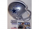 Roger Staubach Autographed Hand Signed Dallas Cowboys Full Size Helmet - PSA/DNA