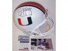 Jim Kelly Autographed Hand Signed Miami Hurricanes Full Size Helmet - PSA/DNA