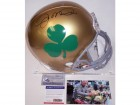 Joe Montana Autographed Hand Signed Notre Dame Fighting Irish Full Size Helmet - PSA/DNA