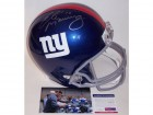 Eli Manning Autographed Hand Signed New York Giants Full Size Helmet - PSA/DNA