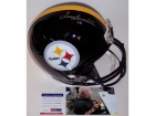 Terry Bradshaw Autographed Hand Signed Pittsburgh Steelers Full Size Helmet - PSA/DNA
