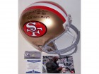 Jerry Rice Autographed Hand Signed San Francisco 49ers Throwback Full Size Helmet - BAS Beckett