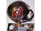 Mike Alstott & Derrick Brooks Autographed Hand Signed Tampa Bay Buccaneers Full Size Helmet - PSA/DNA