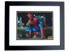 Andrew Garfield Signed - Autographed Spider-Man - Peter Parker 8x10 inch Photo BLACK CUSTOM FRAME - Guaranteed to pass PSA or JSA