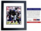 Antonio Gates Signed - Autographed San Diego Chargers 8x10 inch Photo BLACK CUSTOM FRAME - PSA/DNA Certificate of Authenticity (COA)