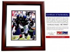 Antonio Gates Signed - Autographed San Diego Chargers 8x10 inch Photo MAHOGANY CUSTOM FRAME - PSA/DNA Certificate of Authenticity (COA)
