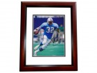 Alonzo Highsmith Signed - Autographed Houston Oilers 8x10 inch Photo MAHOGANY CUSTOM FRAME - Guaranteed to pass PSA or JSA