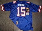 Tim Tebow Hand Signed Gators Blue Nike Jersey