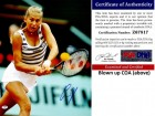 Anna Kournikova Signed - Autographed Tennis 16x20 inch Photo - PSA/DNA Certificate of Authenticity (COA)